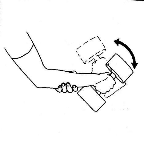 آب درمانی دست